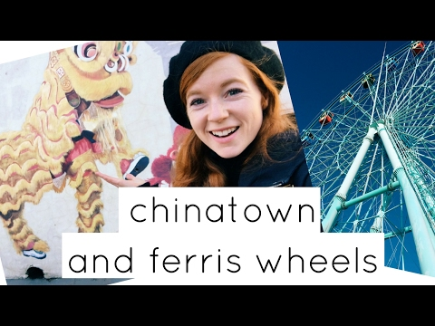 🍜  Incheon's Chinatown and Weolmido Theme Park (월미도)