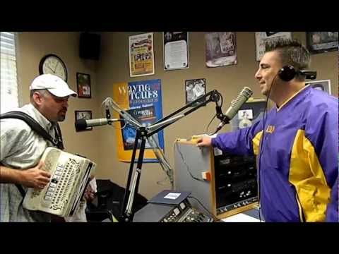 Horace Trahan and Mike Soileau Live in the Cajun Radio Studios