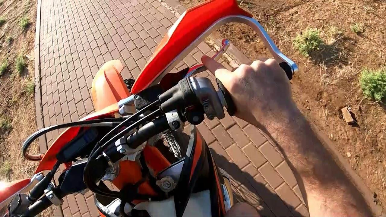 Brand new KTM EXC (XC-W) 300 2019 Engine sputtering issue