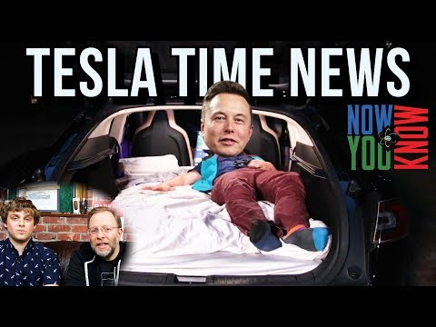 Tesla Time News - A Bed for Elon! and more
