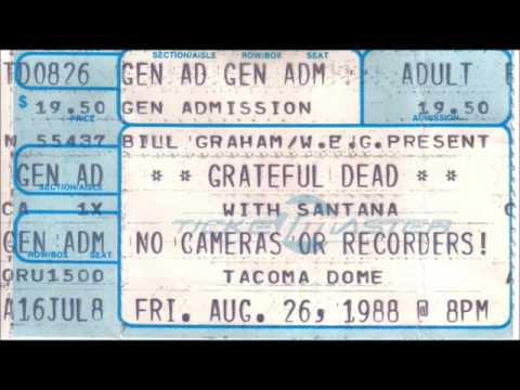 The Grateful Dead ~ 20 - Black Muddy River (Encore) ~ 8-26-1988 ~ Tacoma, WA