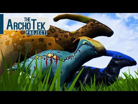 The Archotek Project - Bebê Parasaurolophus, Grande Jornada! | Dinossauros (#13) (PT-BR)