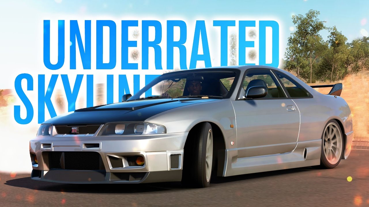 MOST UNDERRATED SKYLINE | R33 GTR | Forza Horizon 3 Gameplay