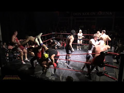 2017 BATTLE ARTS RUMBLE - 40 MAN ROYAL RUMBLE STYLE MATCH