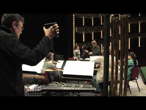 Répétition de Take the Dog Sled par l'Orchestre du CNA