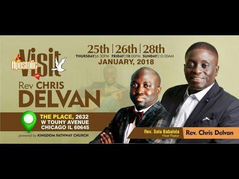 Download Apostolic Visit with Pastor Chris Delvan (Day 2)