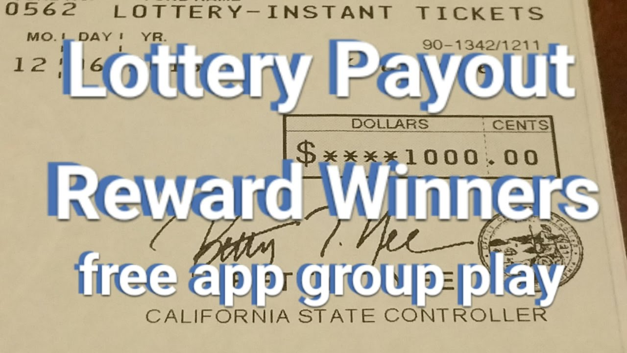 Lottery Payout Check - New App - Rewards Winners