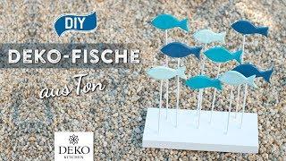 DIY: süße Deko-Fische aus Ton selbermachen [How to] Deko Kitchen