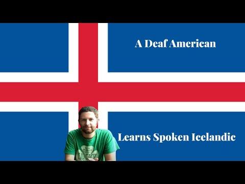 Icelandic, ASL, Icelandic Sign language and Kris