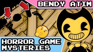 Bendy and the Ink Machine Mysteries: Secret Footprints 👣 and Blocked Ink Machine Room Theories