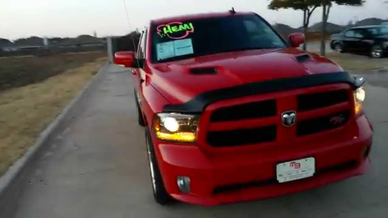 Video walk around $26,991 Red 2014 Ram R/T 1500 V8 HEMI - YouTube