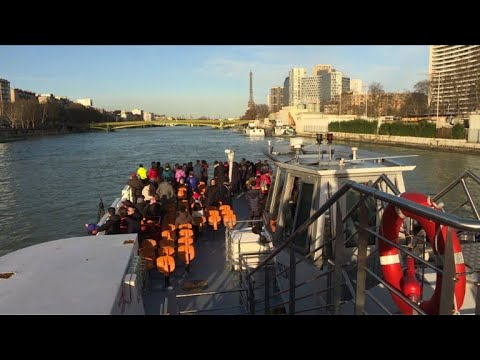 Paris river cruises back on the water after floods