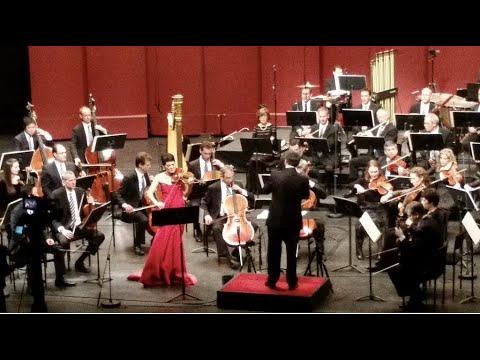 Anne Akiko Meyers World Premiere Samuel Jones Violin Concerto All-Star Orchestra