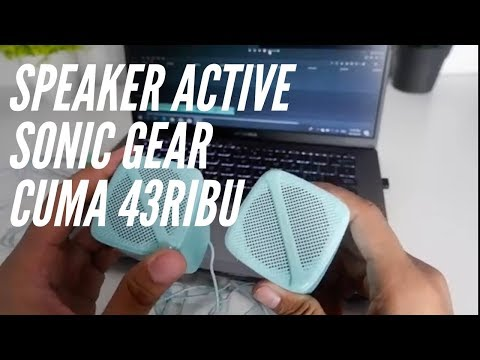 Unboxing Dan Review Speaker Active Sonic Gear Sonic Cube High Clarity 2.0