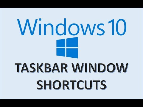 Windows 10 - Window Shortcuts & Taskbar Tutorial - How To Switch Between Active Applications On PC