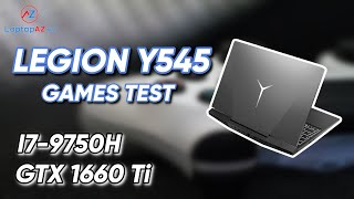 Test Game   Lenovo Y545   i7-9750H - GTX 1660Ti   LaptopAZ.vn