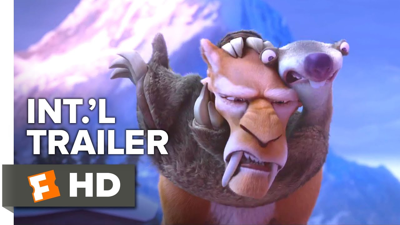Download Ice Age: Collision Course Official International Trailer #1 (2016) - Ray Romano Animated Movie HD