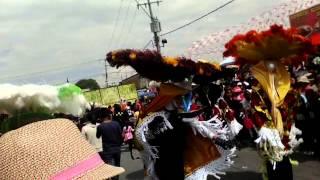 Carnaval Papalotla tlax.2015 Presentacion Xilotzinco part.1