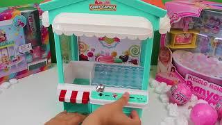 Oyuncak Bebeklerimize aldık biz oynadık !! oyuncak kapma makinesi Bim Oyuncak Bebek Bidünya Oyuncak