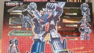 Transformers G1 RAIDEN ( JAPANESE TRAINBOTS ) Review