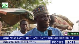 KOGI STATE PICK FAVORITE CANDIDATE FOR PRESIDENTIAL AND SENATORIAL ELECTIONS 2019