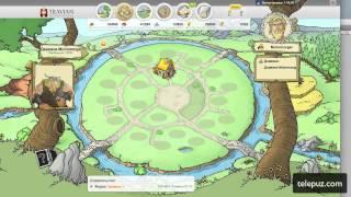 Браузерная игра онлайн  Травиан