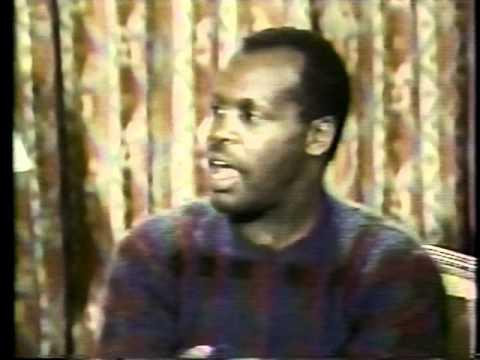 Danny Glover : Show Biz Interview (The Color Purple) 1985