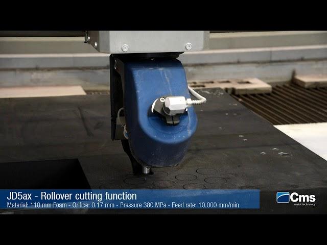 CMS JD5ax 5 AXIS Waterjet Cutting Technology