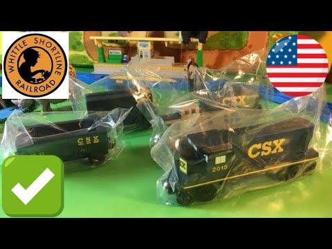 Repeat Unpack Whittle Shortline Railroad Wooden Csx Transportation