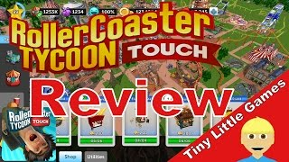 RollerCoaster Tycoon Touch Android iOS Game Review