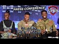 Marvel Studios' Black Panther Press Conference - Full Video!