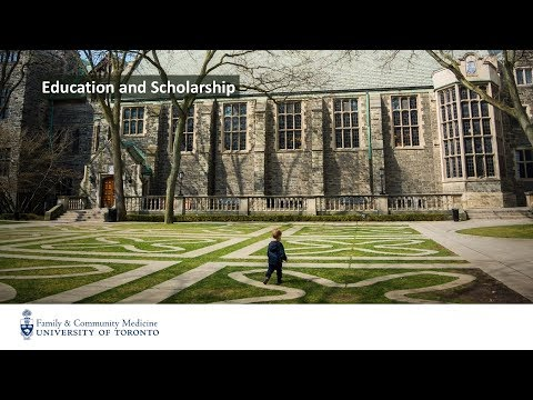 Future of Family Medicine - Education and Scholarship