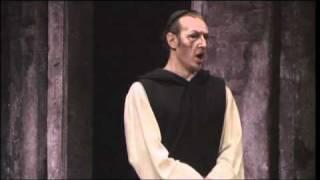 Paolo Battaglia sings Padre Guardiano in La Forza Del Destino duet with Leonora Susanna Branchini