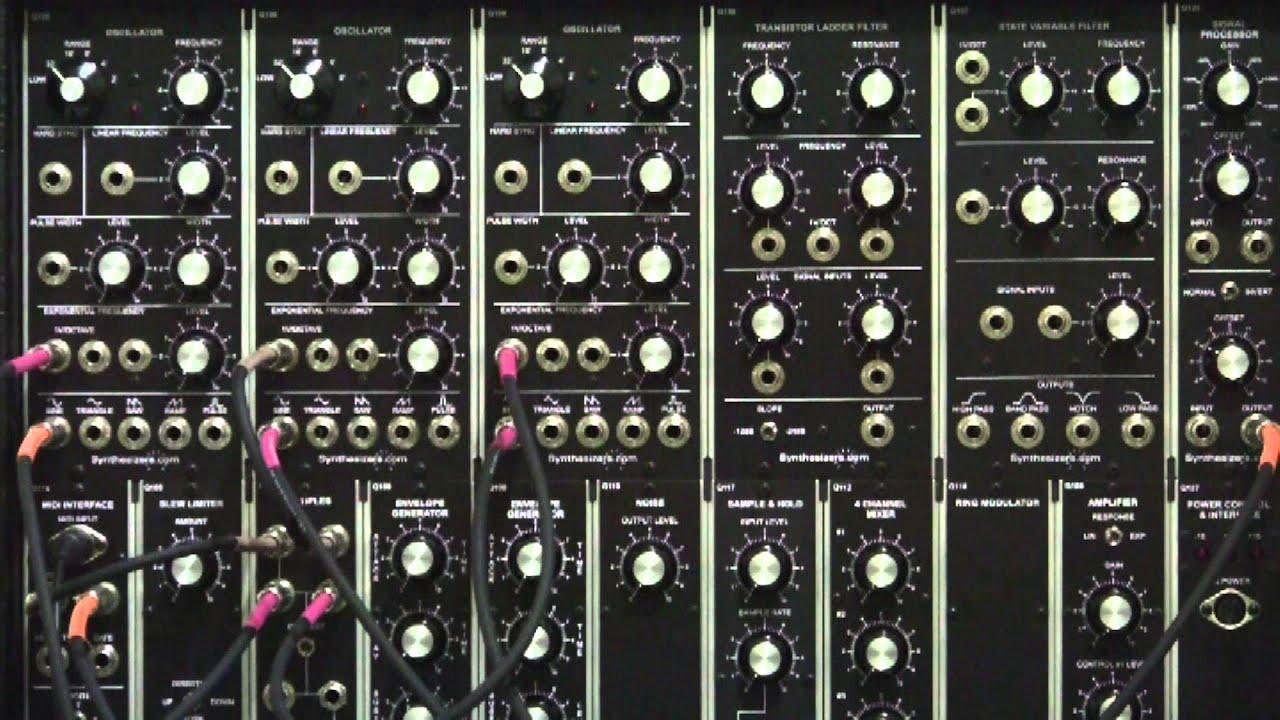 Why You Need Standards Module Dotcom Analog Modular Synthesizer