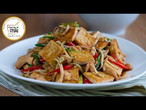 Salteado de Tofu con Brotes de Soja | Receta de Tofu