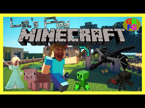 Minecraft Gameplay: Dad and Daughter Play Minecraft G-Rated Family Gaming