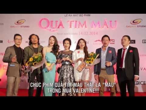 Xem phim Qủa tim máu - Quả Tim Máu - Họp báo ra mắt phim tại TPHCM 10.02.2014