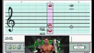 "Mario Paint - ""Say It To My Face"" (Alex Riley WWE Theme - Redo)"