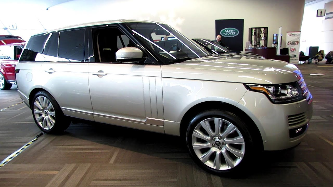 2013 Range Rover Supercharged Exterior and Interior Walkaround