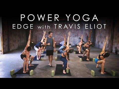 "30min. Power Yoga ""Edge"" with Travis Eliot – Yoga 30 for 30 Program"