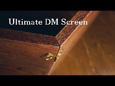 Ultimate Dungeon Master Screen Build - YouTube