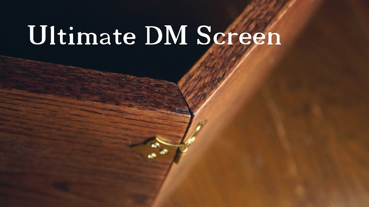Ultimate Dungeon Master Screen Build