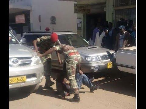 Zimbabwean soldiers beat up police ! | S Africa News