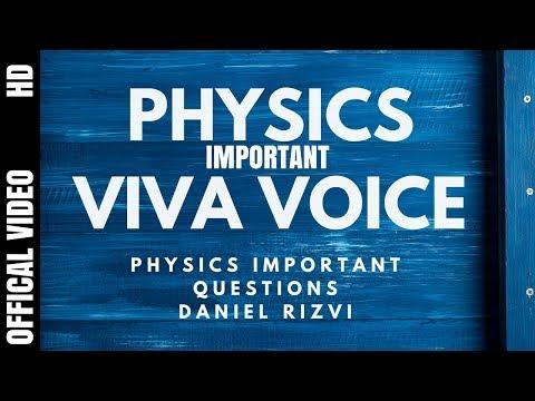 Important Physics Class 12 viva questions | CBSE Physics Practicals | Physics VIVA Questions |