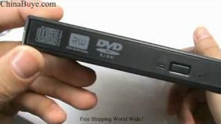 Brand New IBM External USB 2.0 Slim DVD-RW Burner Writer Driver for Laptop