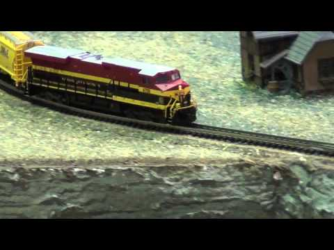 N Scale Kansas City Southern Freight HD