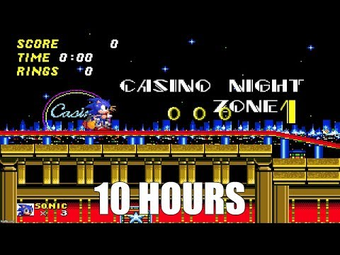 Sonic 2 - Casino Night Zone Extended (10 Hours)
