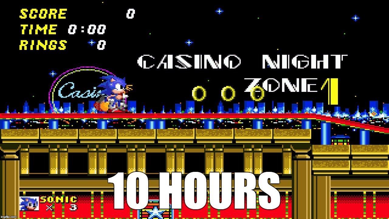 Casino night zone sonic mania