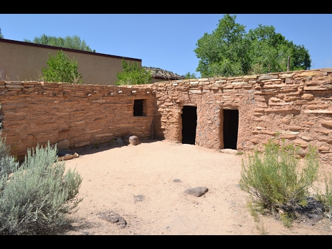 Discovering An Ancient Village From The Anasazi. Boulder, Utah