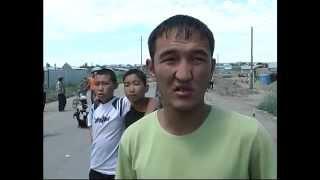 Казахи защищают свои дома  14 07 06